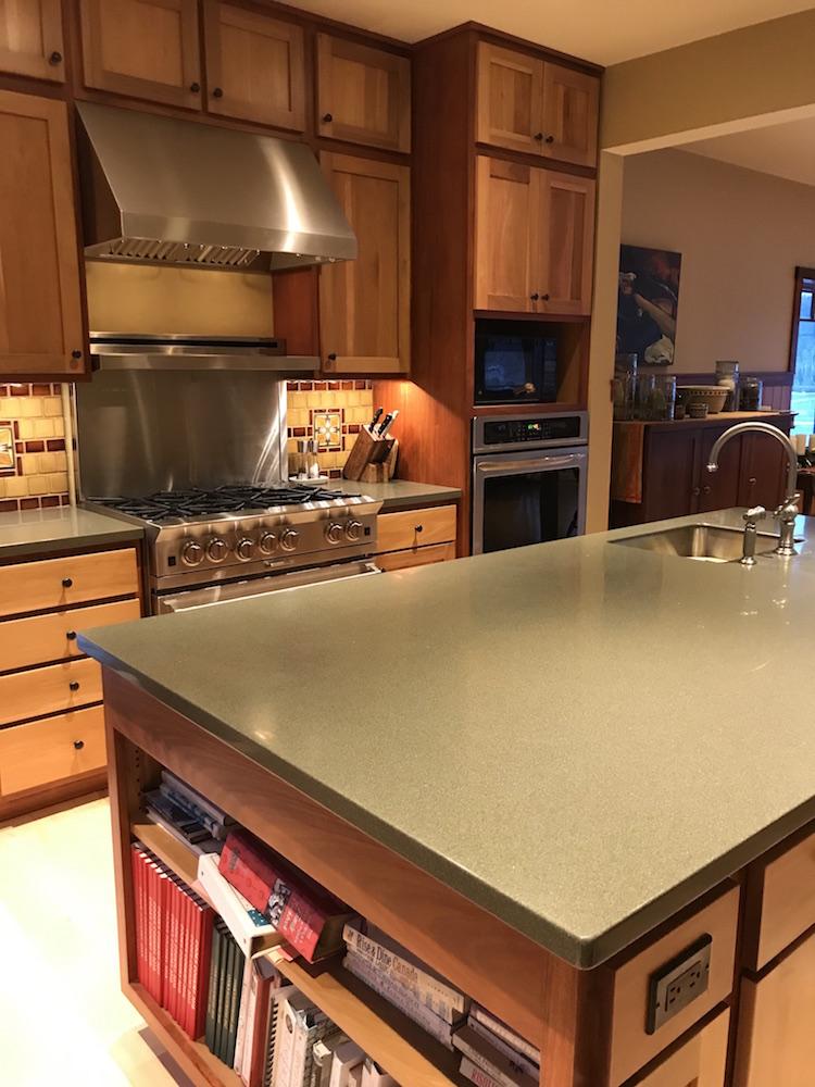 Kitchen island and stove copy